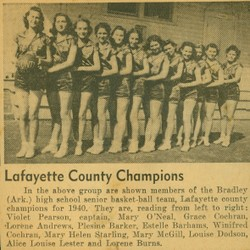 Girls basketball 1940