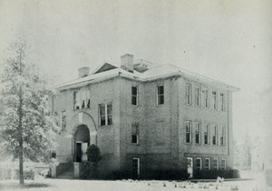 Old HS Bldg, Northeast view
