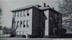 Old HS Bldg, Southeast view