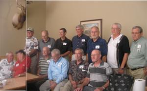 Mens group 1962 reunion 6-27-09